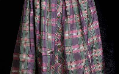 Sarah Thomas Silk Taffeta Skirt