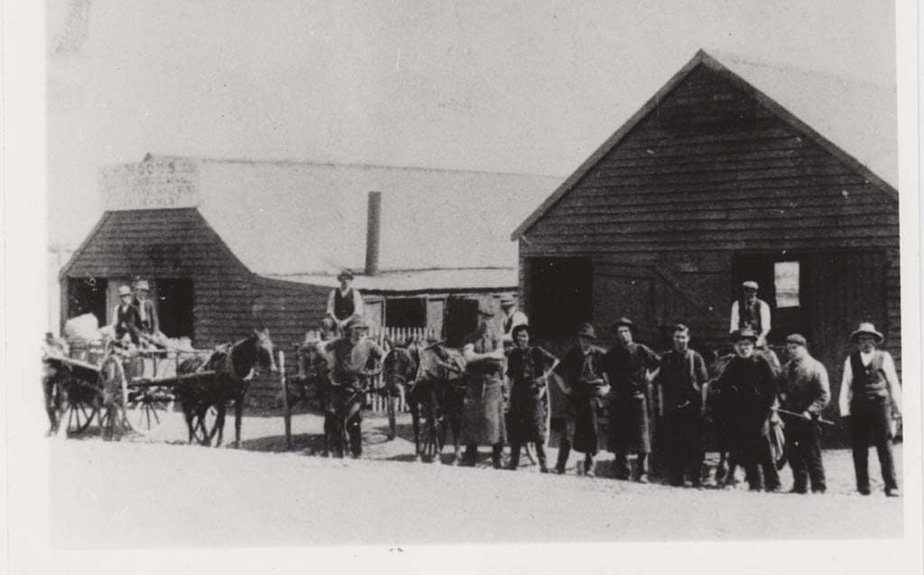 LR Mood & Sons Coachbuilders and Wheelwrights, Albion Park c.1900