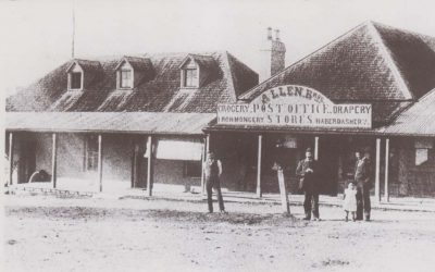 Allen Bros Post Office Store & Residence